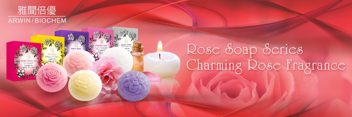 Rose whitening wash Mousse