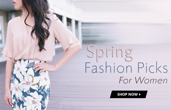 Spring Fashion Picks For Women
