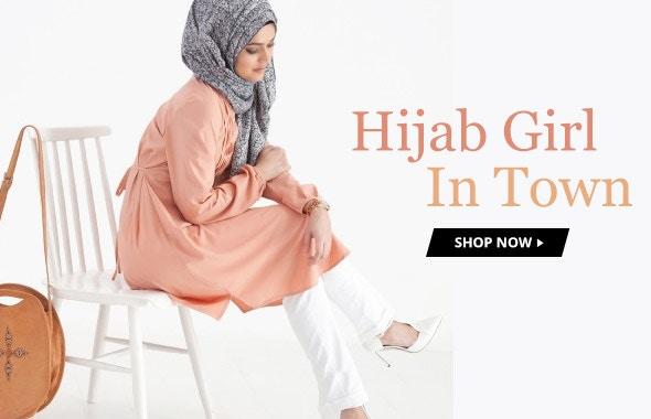 Hijab Girl In Town