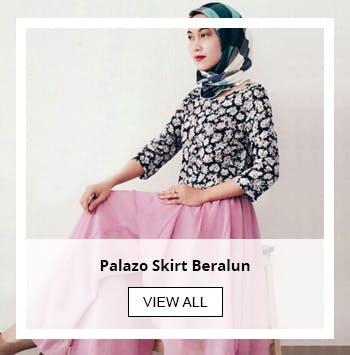 Palazo Skirt Beralun
