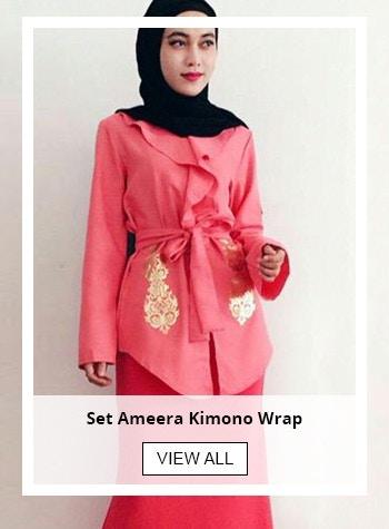 Set Ameera Kimono Wrap