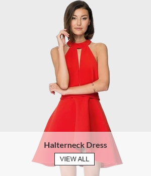 Halterneck Dress